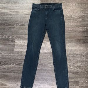 J Brand High Waisted Skinny Jeans